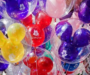balloons, disney, and disney world image