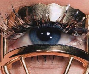 blue, eye, and lashes image