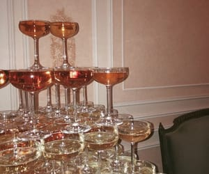 wine, party, and champagne image