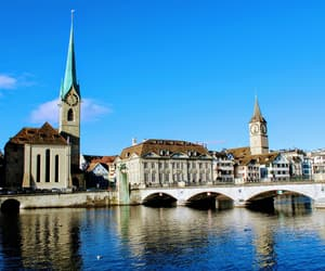 church, switzerland, and old town image