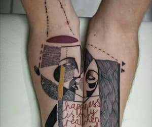 arms, cubism, and Tattoos image
