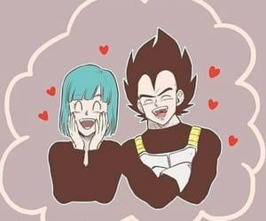 anime, art, and couple image