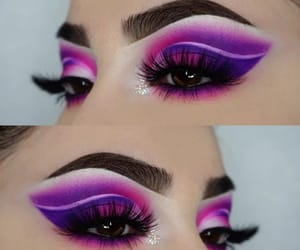 lila, maquillaje, and tono image