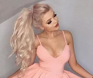homecoming dresses, homecoming dress a-line, and pink homecoming dress image