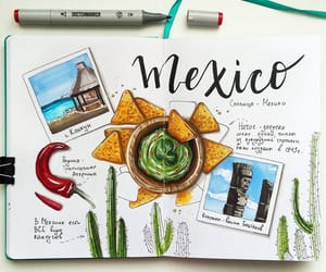 journal, journal art, and mexico image