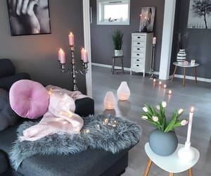 home, candle, and interior image