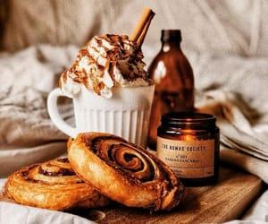 food, autumn, and coffee image