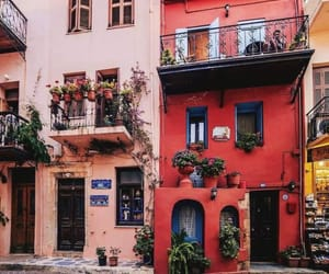 building, flowers, and travel image