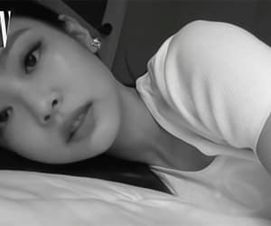 b&w, bed, and gif image