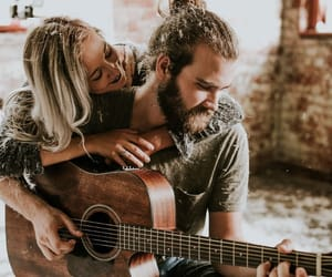 couple, lové, and music image