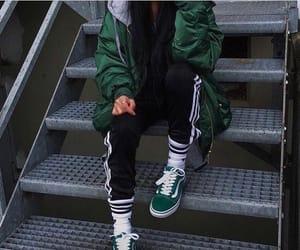 fashion, green, and vans image