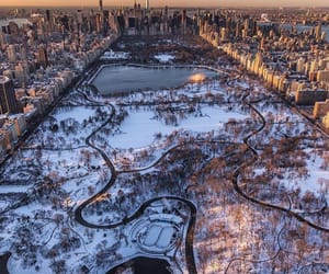 city, aerial photography, and beautiful image