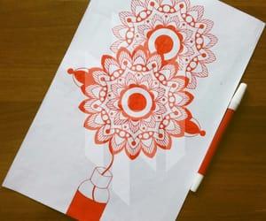 doodle, patterns, and doodles image