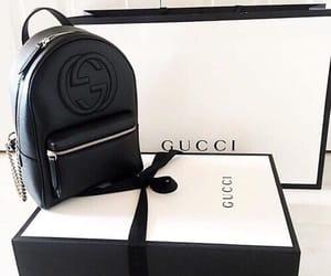 bag, gucci, and black image