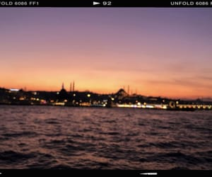 boat, istanbul, and sea image