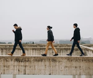 abbey road, beatles, and old image