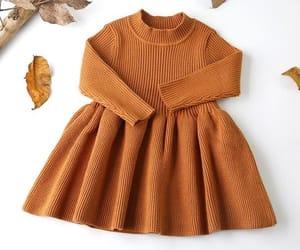 babies, brown, and dress image
