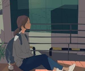 art, coffee, and illustration image