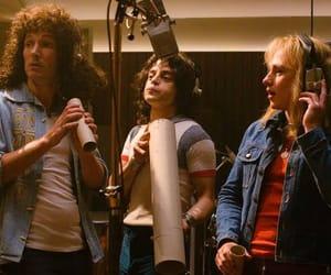 bohemian rhapsody, Freddie Mercury, and Queen image