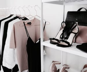 black, classy, and outfit image