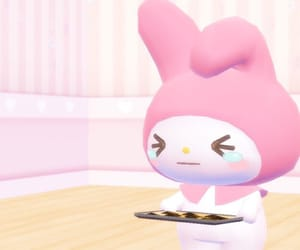 kawaii, my melody, and pink image