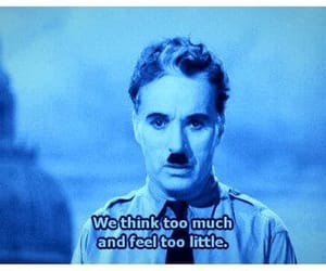 blue and charlie chaplin image