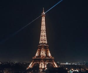 beautiful, eiffel tower, and paris image
