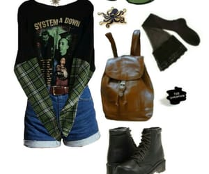 black, grunge, and jean image