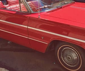 car, red, and aesthetic image