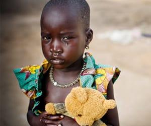 africa, sad, and child image