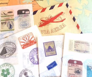 student gift, world traveler gift, and country stamp image