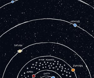 planet, stars, and space image