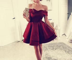 simple prom dress and prom dress short image