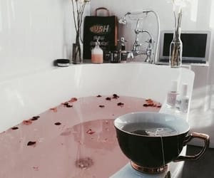 bath, tea, and relax image