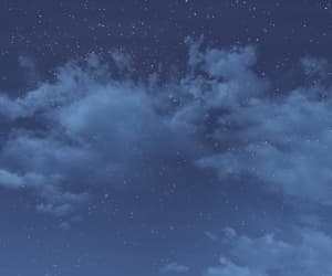 blue, cloudy, and evening image