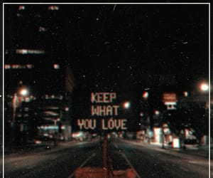 quotes, night, and city image