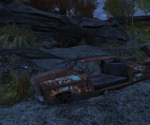 car, one way, and fallout image