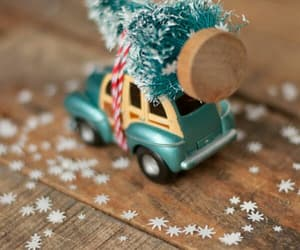 car, christmas, and cute image