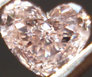 heart, diamond, and aesthetic image