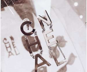 chanel, earrings, and fashion image