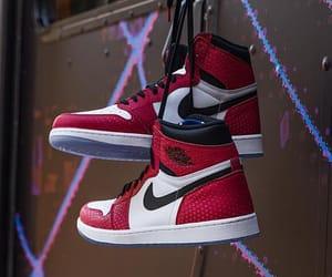 black, jordan, and shoes image