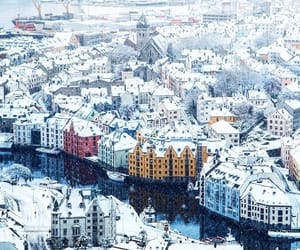 norway, snow, and winter image