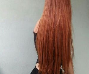 beauty, ginger, and long image