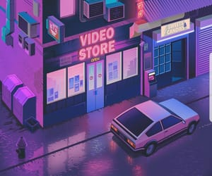80s, animation, and colors image