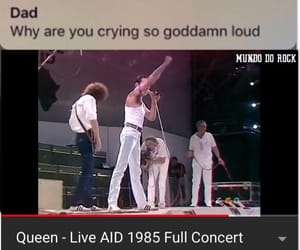 meme, Queen, and rock image
