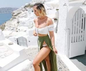 fashion, alisha marie, and Greece image