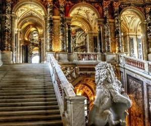 stairs, schloß, and licht image