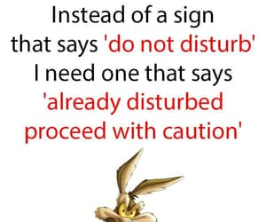 funny, sassy, and do not disturb image