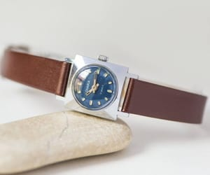 etsy, ladies watch, and 70s fashion watch image