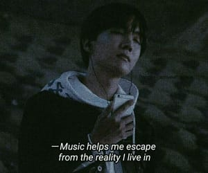 quotes, bts, and grunge image